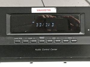 Sony vahvistin STR-DH100 ja Onkyo CD Player DX-700
