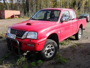 Myydään Mitsubishi L200 Pickup 2,5 TD 4WD CC GLS