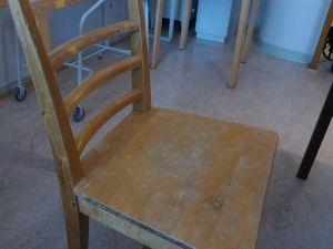 Tuoli, puu, 2 kpl (2)