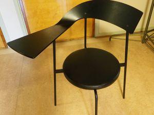 Tuoli, puu, musta, 20 kpl (8)