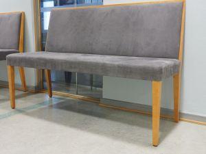 Sohva, verhoiltu, puu/harmaa, 10 kpl