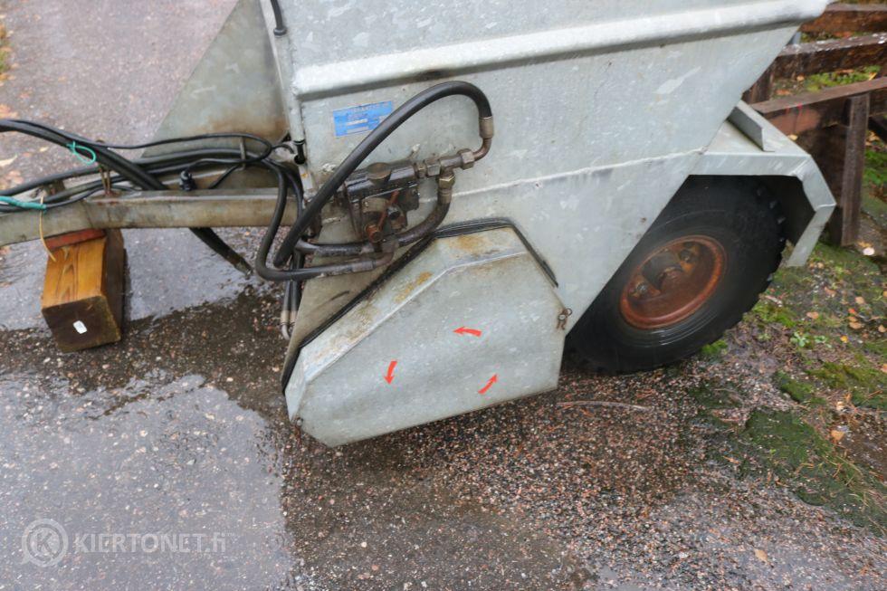 Traktorivetoinen hiekotin