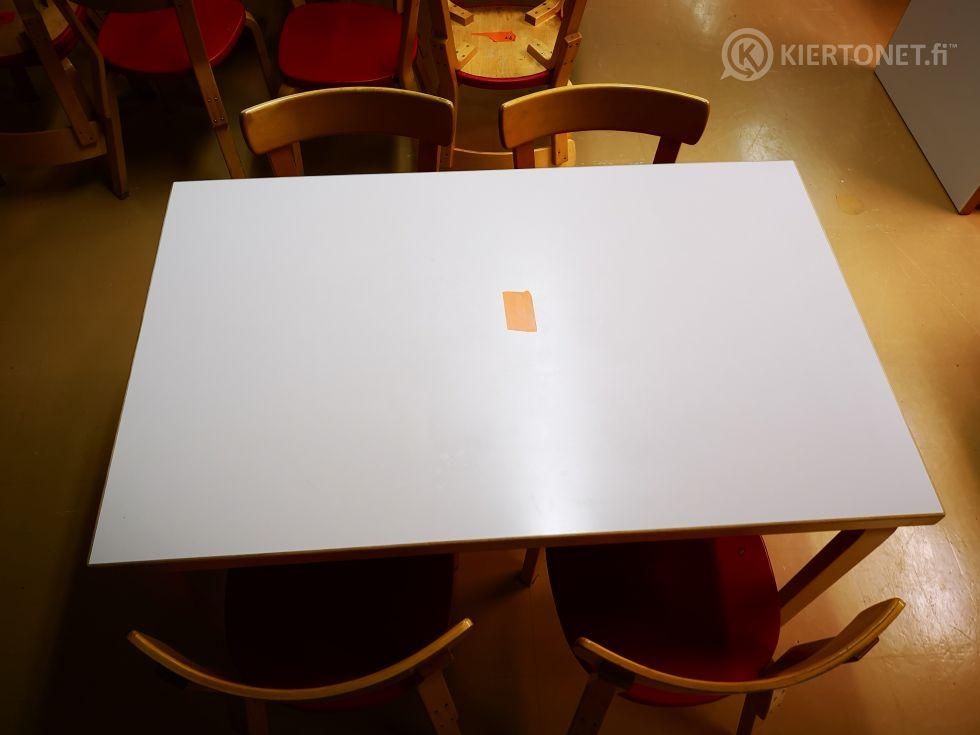 Artek pöytä ja 4 tuolia (103)