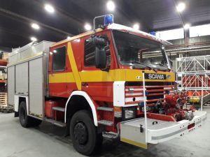 Scania 93H 250 4x4 sammutusauto