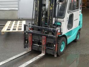 Mitsubishi diesel haarukkanosturi