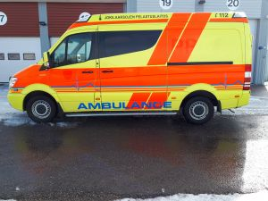 MB Sprinter ambulanssi - vm. 2012