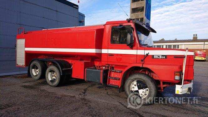Scania 113 H säiliöauto