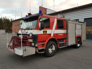 Scania P93ML sammutusauto