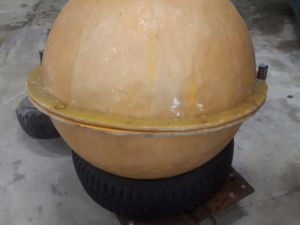 Jääpallomuotti nro 3
