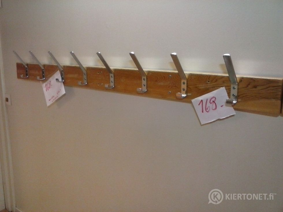 Vaatekoukkulankku, 8 koukulla  (168)