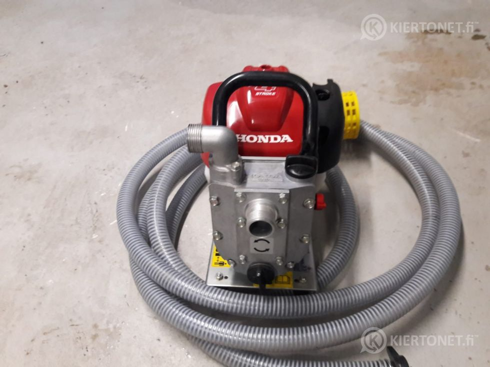 Honda WX10 pumppu ja letku