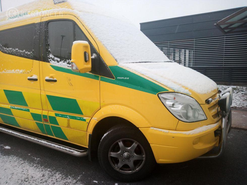 Leasingkaluston tieltä käytöstäpoistettu ambulanssi