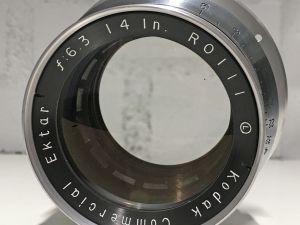 Kodak Commercial Ektar 14in f6.3 objektiivi