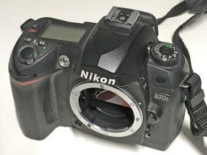 Nikon D70s -runko
