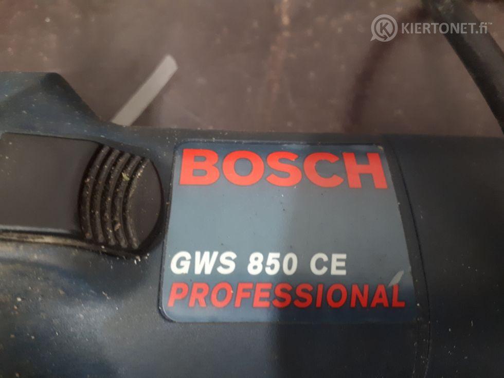 Kulmahiomakone Bosch