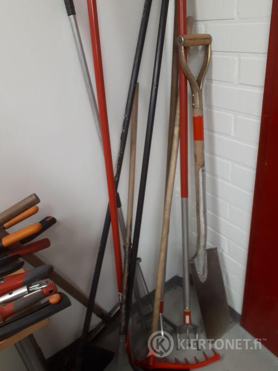 Puutarhatyökalut, erä 3