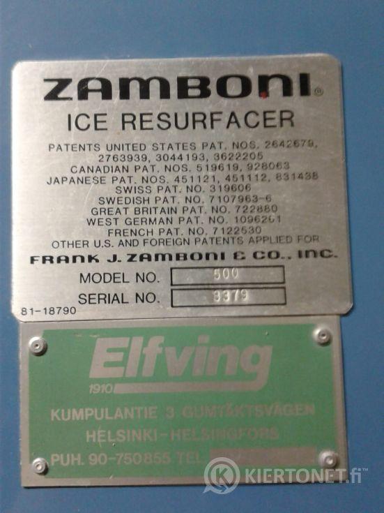 ZAMBONI 500 jäänhoitokone