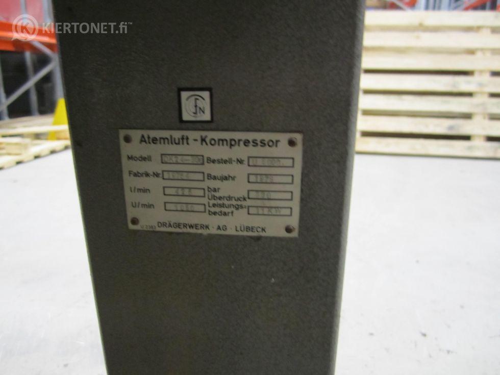 MYYDÄÄN HENGITYSILMA KOMPRESSORI