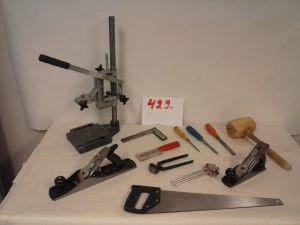 AEG Porakoneteline ja teknisentyön välineitä  (429)