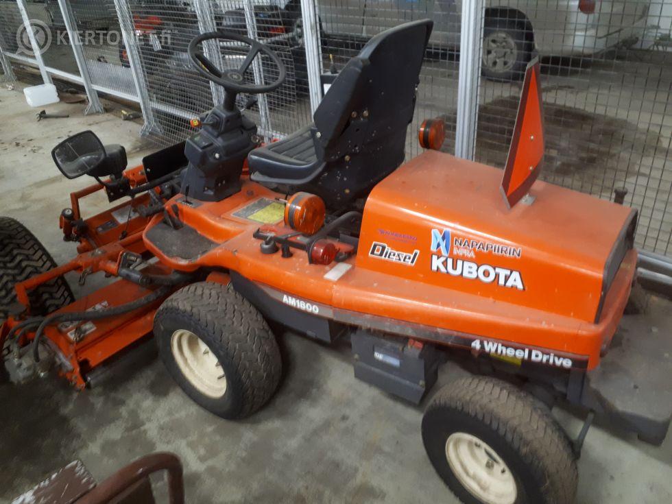 Kelaleikkuri  Kubota AM1800 4WD