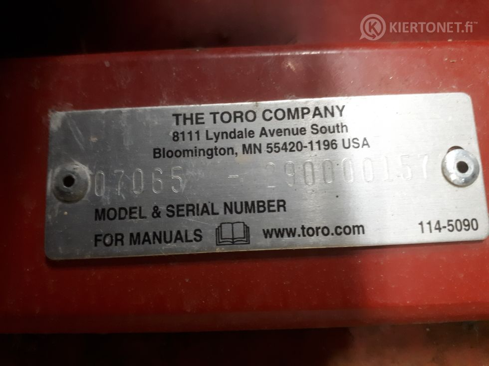Ruohonkerääjä Toro Pro Sweep 5200