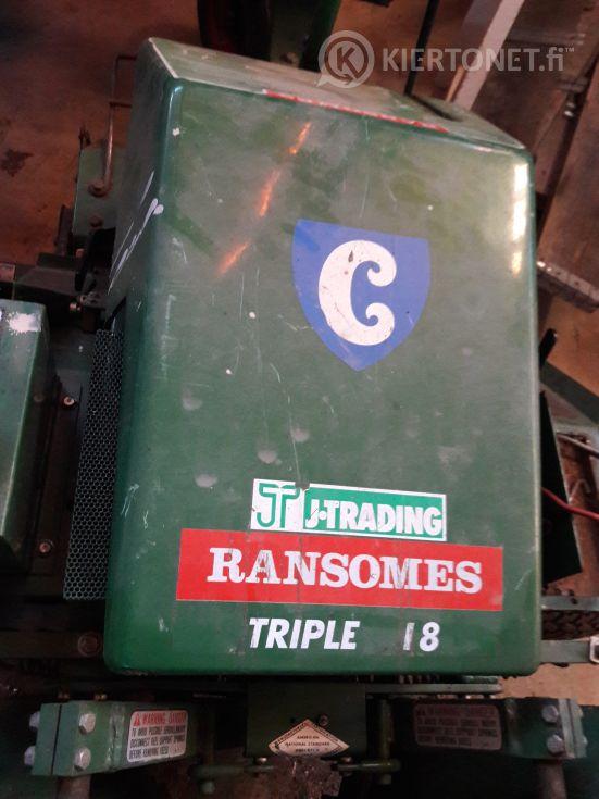 Kelaleikkuri Ransomes Triple 18