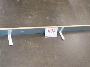 Kapea hylly, pituus 200cm  (470)