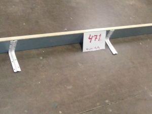Kapea hylly, pituus 200cm  (471)