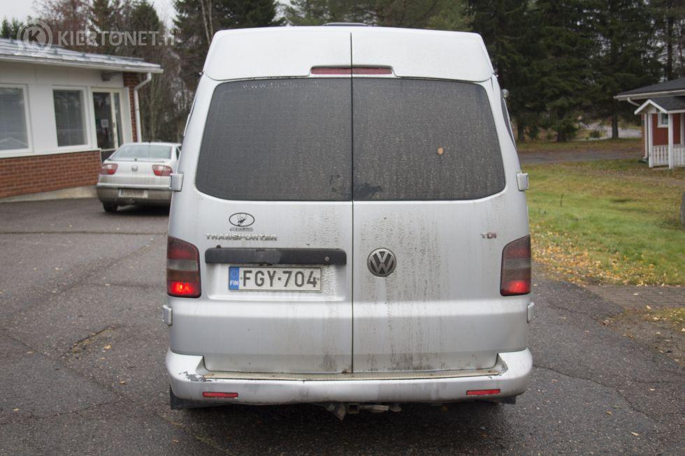 Myydään WV Transporter 1+8