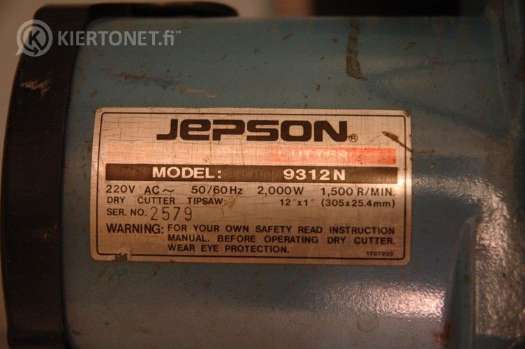 Metallin katkaisusaha Jepson 9312N