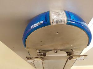 Hälytysvalopaneli Stanby Lightbar SOS 9000 Blue 12VDC/36W