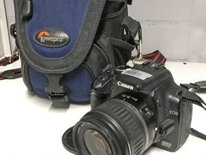Canon EOS 350D + EF-S 18–55mm 1:3.5–5.6 II (26040)