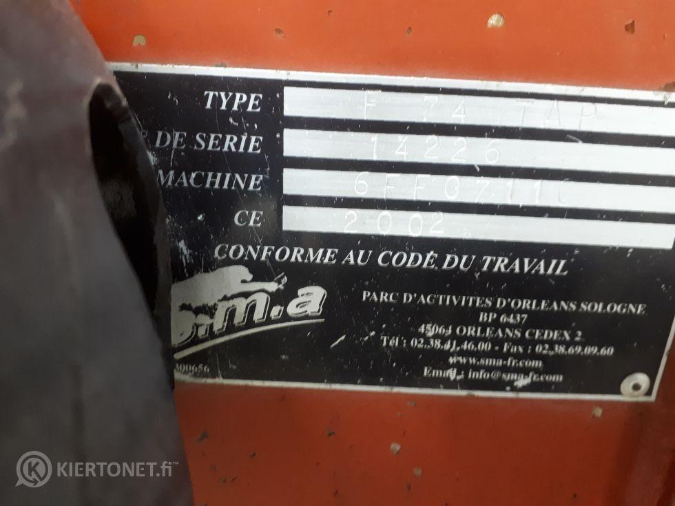 Matalapainopistetraktori Aebi TT70S