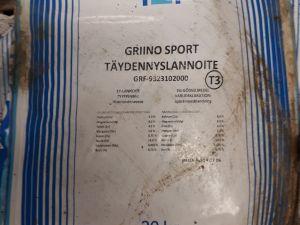 Griino Sport täydennyslannoite, 2-laatu
