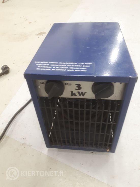 Lämpöpuhallin 3 kW