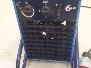 Elbjörn lämpöpuhallin 6 kW