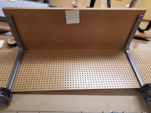 Toimistopöydän etuylähylly 2