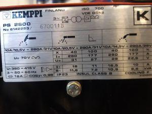 Kemppi PS 2800