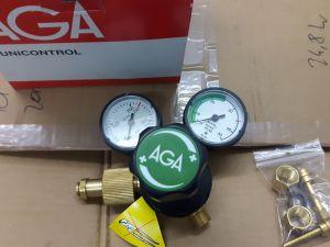 AGA Unicontrol 300-virtaussäätimet 2 kpl