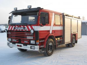 Sammutusauto Scania P93ML/3800