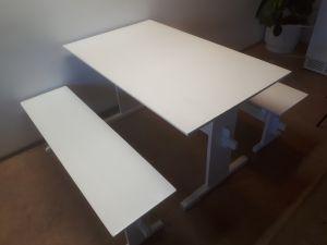 Pirtin pöytä ja penkit - kalusteryhmät 5 kpl