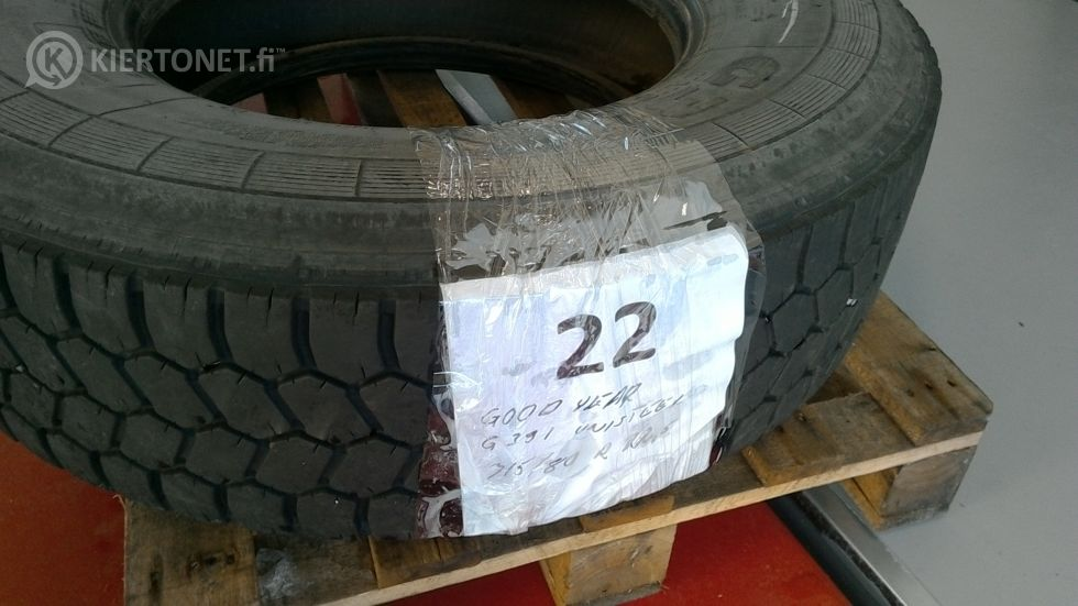 Kuorma-auton rengas