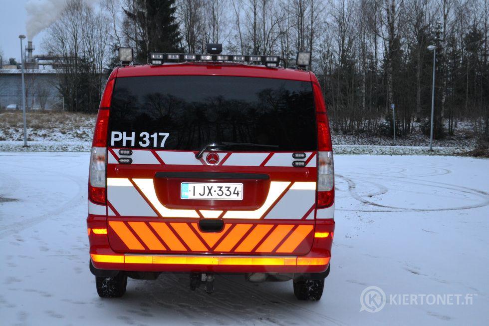 MB Vito 116CDI pitkä A3 4x4 - rek. 8 hlö, aj. vain 40 000 km