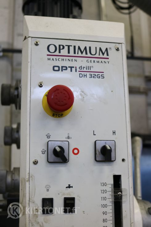 Pylväsporakone OPTidrill DH 32GS Optimum