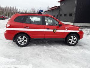 Maastoauto Hynday Santa FE 4x4