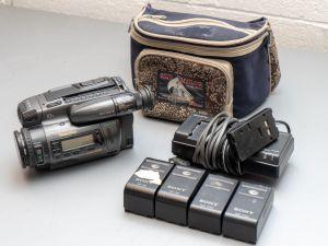 Sony Handycam CCD Tr-2000 hi8