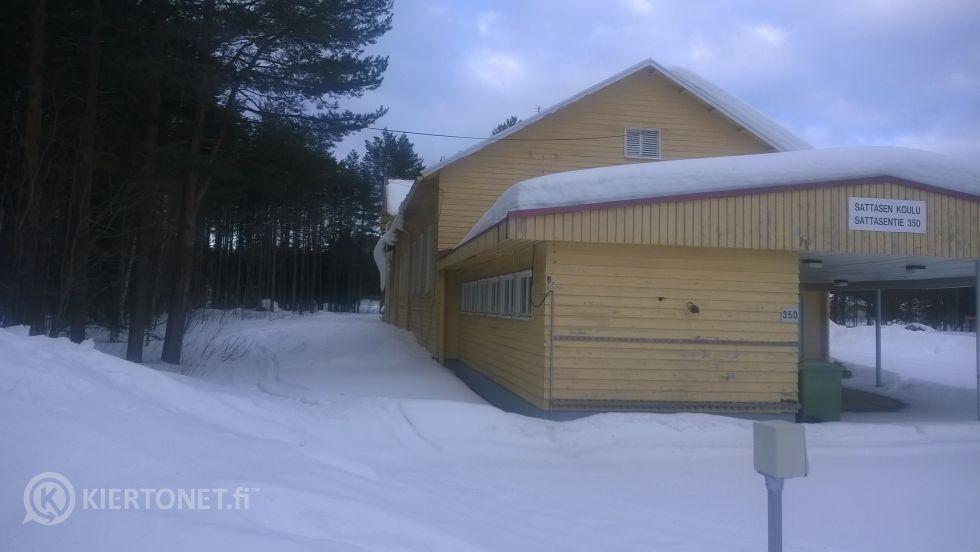 Sattasen koulu Sodankylässä
