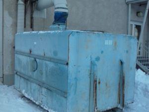Puruimuri n.12m3 säiliöllä - Teollisuuspuhallin (100)