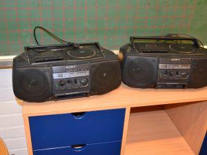 Cd- kasettisoitin