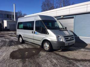 Ford Transit inva Bussi 1+7